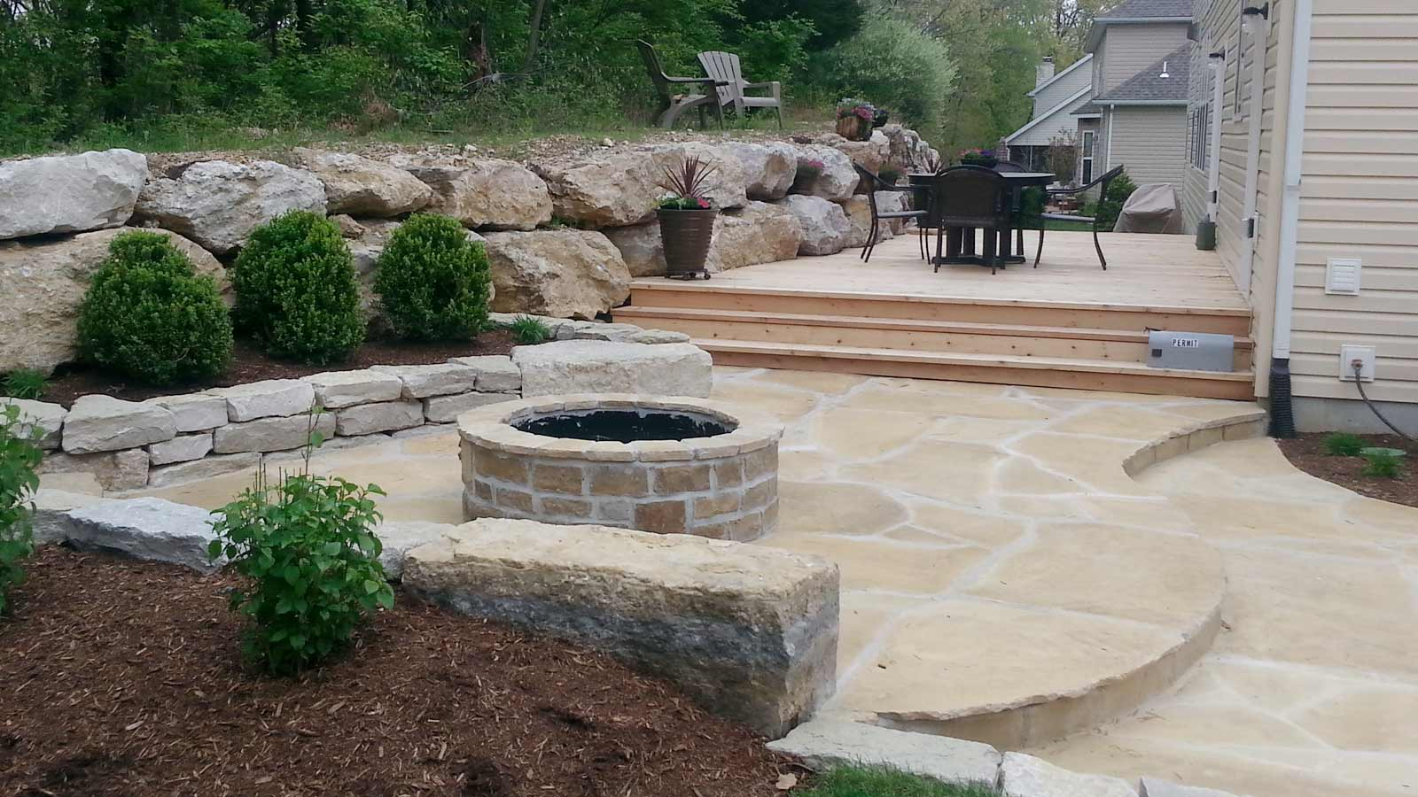 Residential landscape landscaping residential design for Residential landscaping